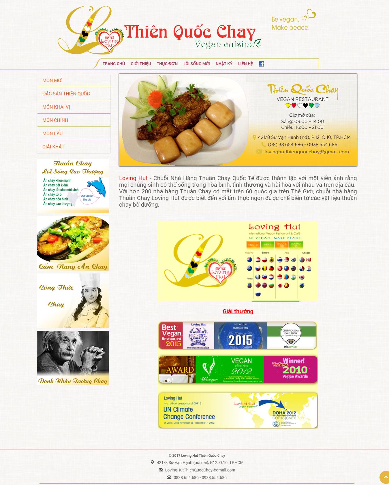 Nhà Hàng Thiên Quốc Chay - Loving Hut Thiên Quốc Chay (1)