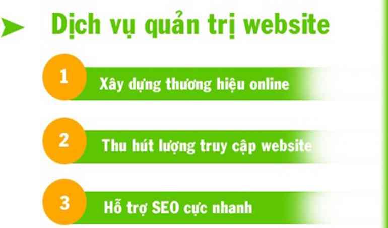 Quản trị chăm sóc website