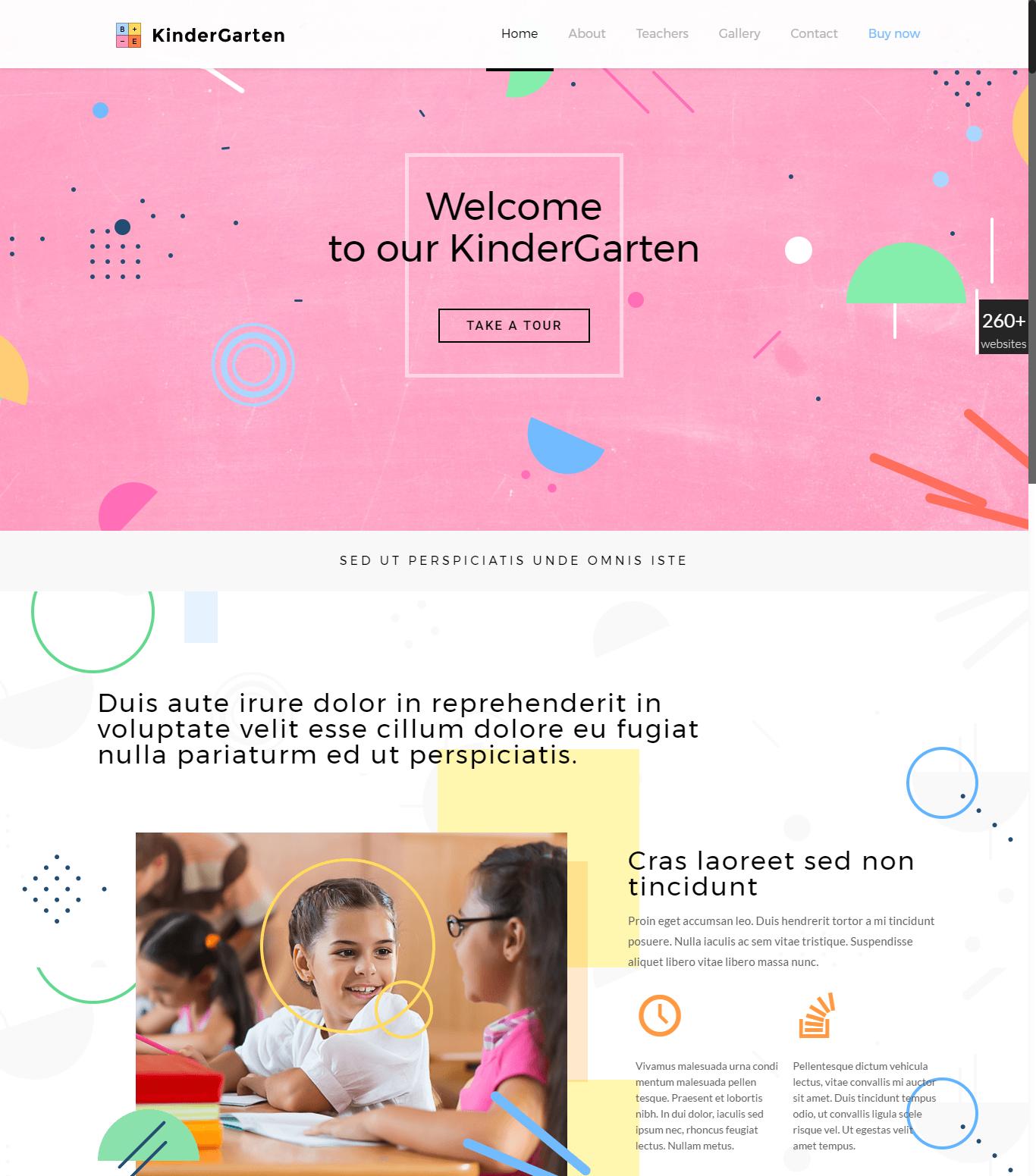 themes Kindergarten1